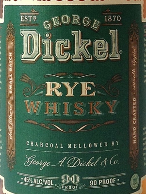 REDGeorge Dickel Rye